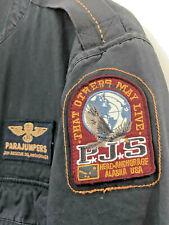Schöne Herren L PARAJUMPERS JACKE top Zustand / Fallschirm Sommer-Jacke Blau WOW