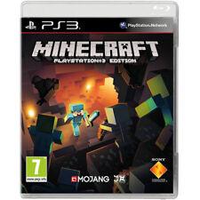 Minecraft Jeu Vidéo pour SONY PS3 CONSOLES DE JEUX NEUF scellé