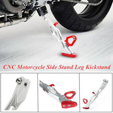 1Piece Red CNC Motorcycle Side Stand Leg Supporter Kickstand 10-60mm