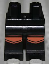 Lego Black Hips and Legs with Reddish Brown Knee Pads Pattern