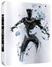 Black Panther Limited Steelbook (blu-ray 3d Blu-ray) Walt Disney