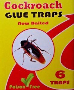 NEW 6x sticky cockroach killer/trap