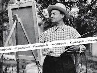 Hubert Braun - Maler - Eschweiler - Stuttgart -   um 1950 - RAR     K 5-10