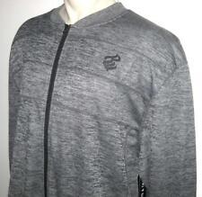 NEW 4XB ROCAWEAR MENS JACKET Zippered Coat Dark Gray Grey 4XL 4X