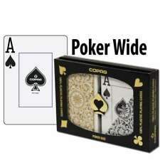 Copag Playing Cards Elite Poker Black/Gold Jumbo Index