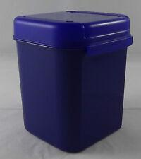 Tupperware A 167 Junior Bellevue Dose Behälter Box 1,2 l Dunkelblau Blau Neu OVP