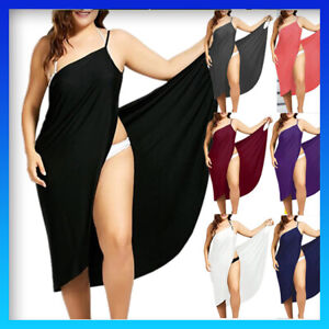 Women Wrap Spa Towel Beach Towel Robes Bath Wearable Summer Dress