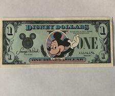 Disney Dollar 1987 $1.00