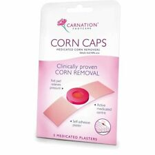 5 In A Pack Of Carnation Corn Caps Medicated Plasters Removal Foot
