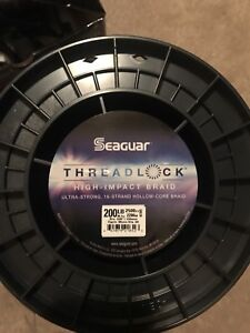 Seaguar Threadlock Hollow Core Braided Fishing Line | WHITE | 200LB/2500-Yd