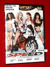 SPEED / TEXAS ALEXIS BLACK TORI DRAKE JESSICA English language Spanish DVD NEW