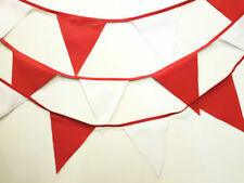 Red and White bunting * 10 mtr * Party / Birthday / Wedding / Christmas