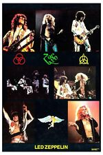 Led Zeppelin Commercial Group Photo Poster from 1972 Size: 12x18