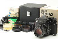🔸N MINT++ in Case🔸Pentax 6x7 TTL + Takumar 105mm f2.4 & Many others from Japan