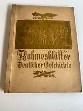 More details for ruhmesblatter eckstein-halpus vintage german cigarette card album 1930s complete