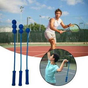 Tennis Serve Training Tools Whip Practice Trainer Self Practice Aids H3B6