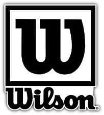 "Wilson Tennis Racquet Ball Car Bumper Window Sticker Decal 4""X5"""
