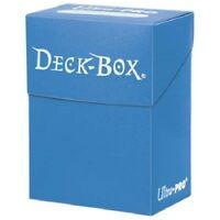 Ultra Pro LIGHT BLUE DECK BOX New Holds 80 Sleeved Magic/Pokemon/Yu-Gi-Oh Cards