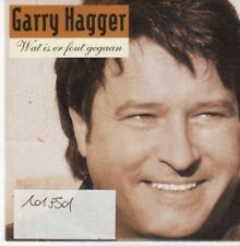(BG609) Garry Hagger, Wat Is Er Fout Gegaan - 2003 CD