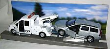 NEW TEAMSTERS CITY RECOVERY TOW TRUCK & SILVER CAR DIECAST TOY MODEL BOXED ORIG