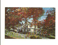 MIRROR LAKE INN, LAKE PLACID, NEW YORK CHROME POSTCARD