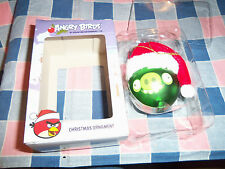 NIB  (Box Wear) Christmas Ornament Angry Birds Green About 3 Inch High