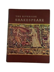 The Riverside Shakespeare, Hardcover Book Houghton Mifflin 1974, Vintage Classic