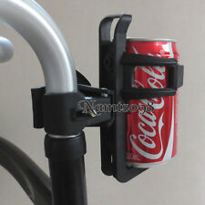 Water Cup Bottle Holder Cage Bar Mount clamp/Wheelchair Walker Bicycle Stroller