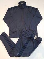 NEW ADIDAS TIRO TRACKSUIT JACKET & PANTS (BQ3857) BLUE/NAVY MEN'S SIZE XXL (2XL)