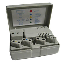World Travel Voltage Converter Adapter Plug Power Kit 50-1600 Watt Ac Us Eu New