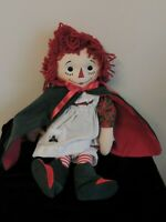 Dakin Signature Collection Raggedy Ann Doll Holiday Keepsake 2nd Doll in Series