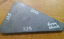 200x235x125x6 Gusset Mild Steel Sheet Plate 6mm **Price Drop £4.99 to £3.99**