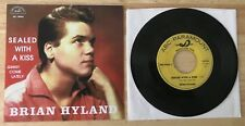 RARE FRENCH SP JUKEBOX BRIAN HYLAND SEALED WITH A KISS