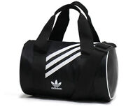 adidas Originals Mini Duffle Bag Black Casual School Sports Travel NWT GD1646