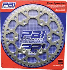 PBI REAR SPROCKET ALUMINUM 57T Fits: Kawasaki KLX125,KLX125L Suzuki DR-Z125,DR-Z