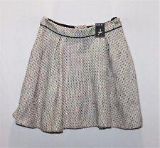 ATOMOSPHERE Designer Girls Multi Textured Skater Skirt Size 10 BNWT #Si82