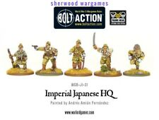 28mm Warlord Games Imperial Japanese HQ  BNIB, WWII Bolt Action,