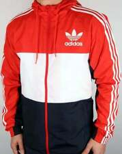 adidas Hooded Regular Size Coats & Jackets for Men
