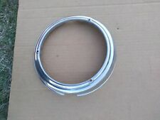 1946 1947 1948 Plymouth NOS stainless headlight bezel trim ring
