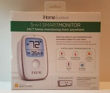 iHome Control 5-IN-1 Smart Monitor 24/7 Works with Apple HomeKit New Sealed