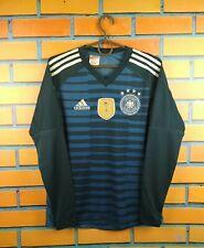 Germany Jersey 2018 2019 Goalkeeper Youth 13-14 Shirt BQ8399 Football Adidas