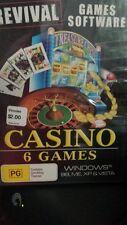 Casino 6 Games PC GAME - FREE POST