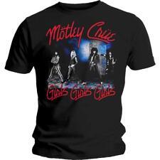 OFFICIAL LICENSED - MOTLEY CRUE - SMOKEY STREET T SHIRT - METAL GIRLS
