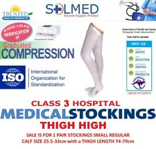 COMPRESSION STOCKINGS ANTI-EMBOLISM THIGH SMALL REGULAR SALE ITEM SEE DETAILS