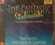 Rare The Fantastic Stokowski CD 11 Tracks New Telarc 66 mins Sealed MINT