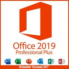 Office2019-Professional Plus Lizenzschlüssel, Lebenszeit & Updates #07244-60
