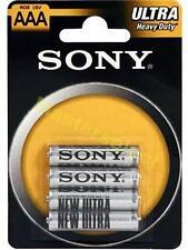 48 X Piles Bâton Sony R03 AAA 12 paquets Pour Télecommande -Pas Cher-
