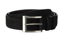 Allen Edmonds Wide Basic Dress Belt in Olive Suede size 36 $98