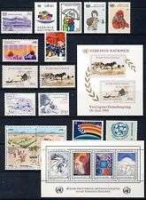 UN - Vienna . 1985-1986 Year Sets . Stamps/Sheets (48-66) . Mint Never Hinged