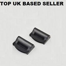 BLACK ROVER Seat Belts Safety Adjustable Stopper Buckle Plastic Clips 2PCS